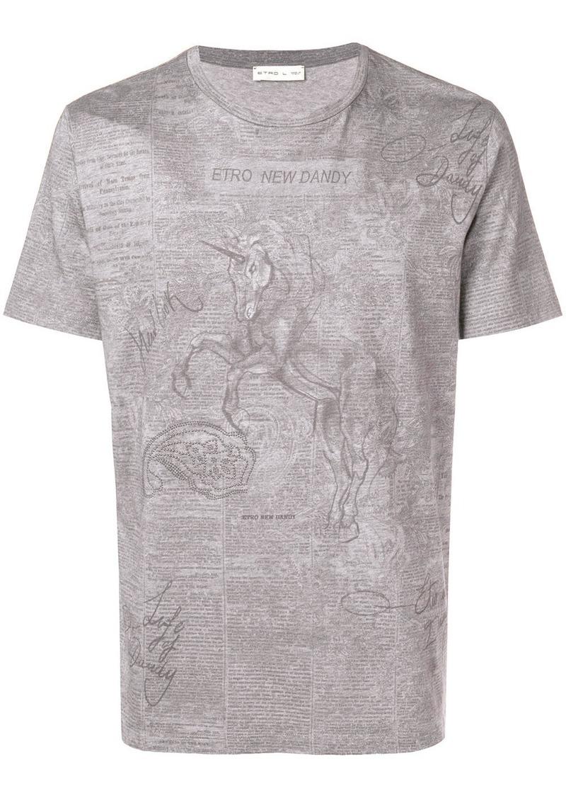 Etro New Dandy T-shirt