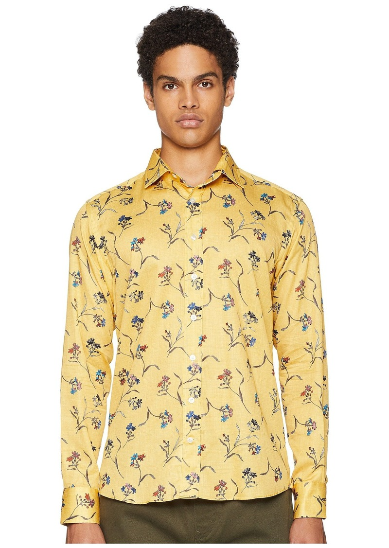 Etro New Warrant Floral Shirt