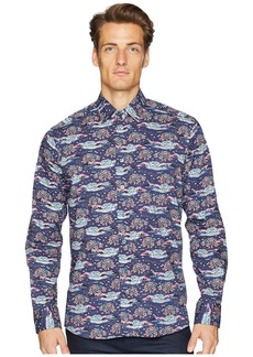 Etro New Warrant Mountainscape Shirt