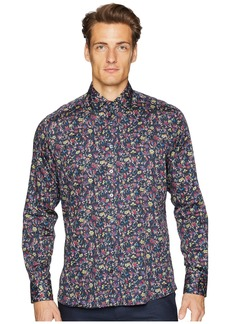 Etro New Warrant Wallpaper Floral Shirt