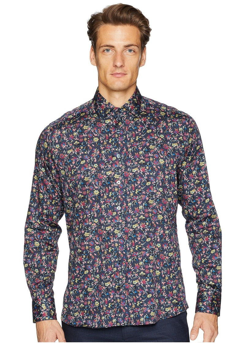 Etro New Warrant Wallpaper Floral Shirt
