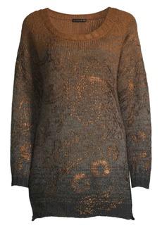 Etro Ombré Lamé Sweater