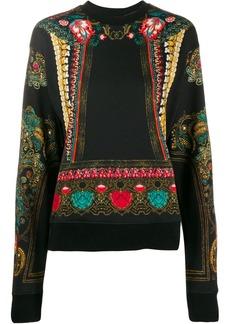 Etro ornate print sweatshirt