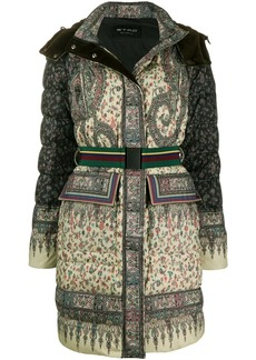 Etro padded paisley coat
