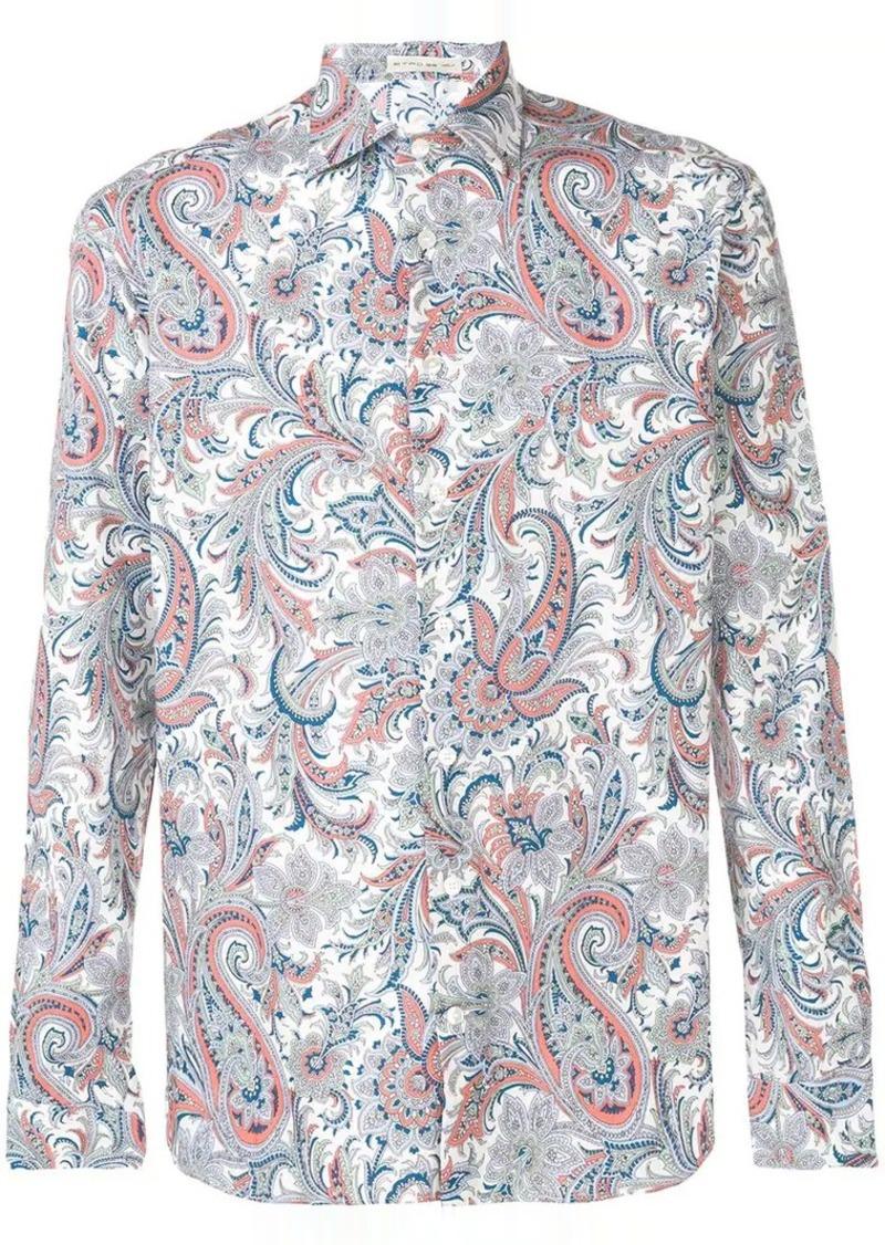 Etro paisley button-up shirt