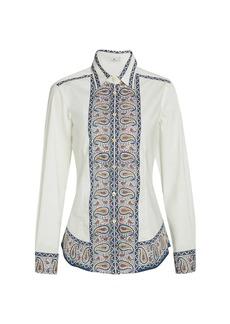 Etro Paisley Collared Shirt