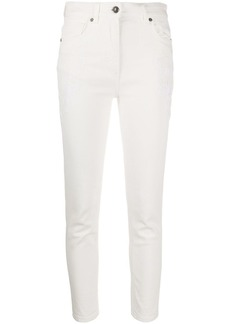 Etro paisley-embroidery jeans