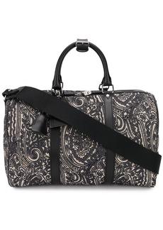 Etro paisley jacquard luggage bag