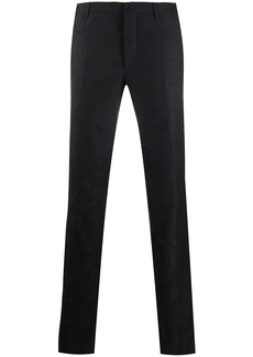 Etro paisley jacquard tailored trousers