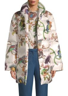 Etro Paisley Lemur Puffer Jacket