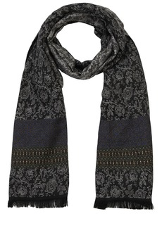 Etro Paisley Linen & Silk Jacquard Scarf