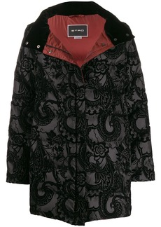 Etro paisley padded coat