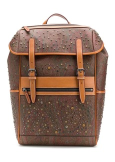 Etro paisley pattern backpack