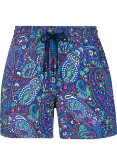 Etro paisley pattern swim shorts