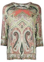 Etro paisley pattern top