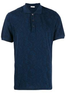 Etro paisley polo shirt