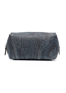 Etro paisley-print beauty case
