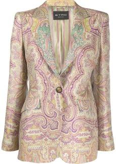 Etro paisley-print blazer