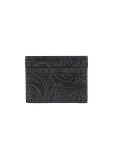 Etro paisley print card holder