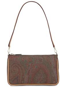 Etro Paisley Print Coated Cotton  Bag