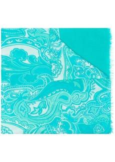 Etro paisley print lightweight scarf