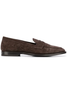 Etro paisley print loafers