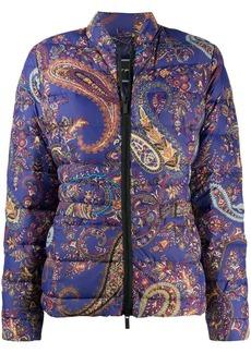 Etro paisley print padded jacket