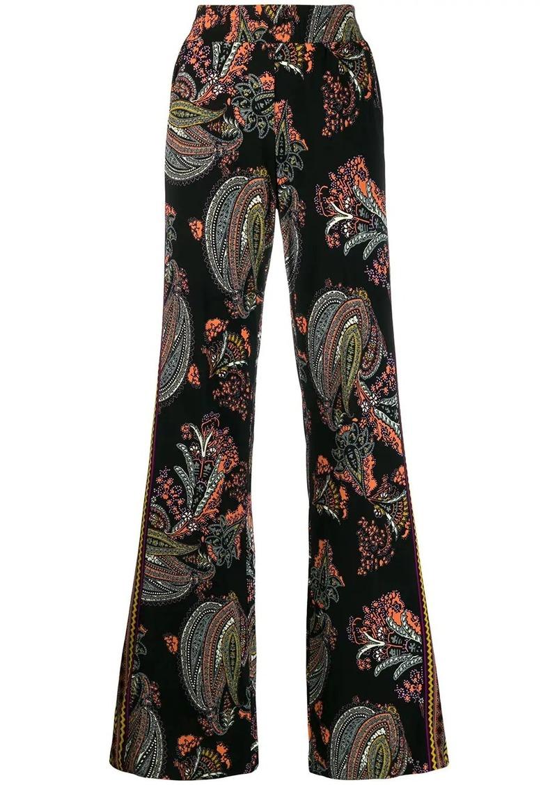 Etro paisley print palazzo pants