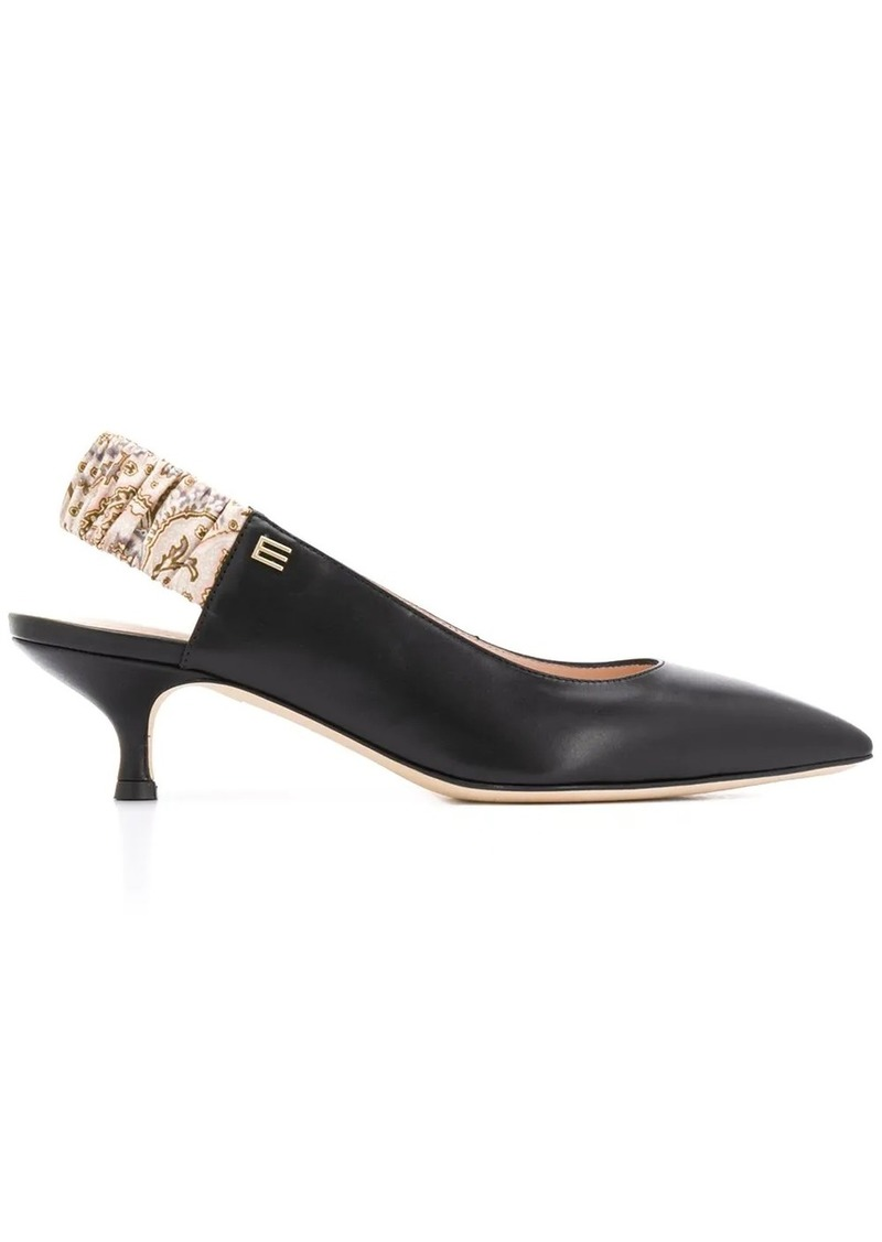 Etro paisley-print pointed toe pumps