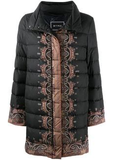 Etro paisley-print puffer jacket