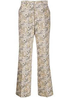 Etro paisley-print straight-leg trousers