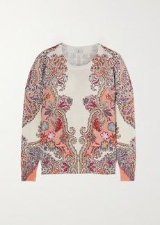 Etro Paisley-print Stretch-silk Sweater