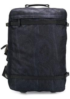 Etro paisley print suitcase