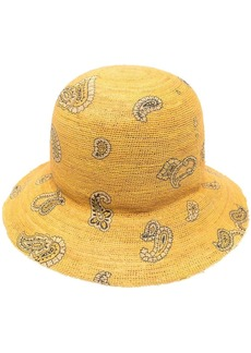 Etro paisley-print sun hat