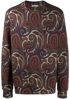 Etro paisley print sweatshirt