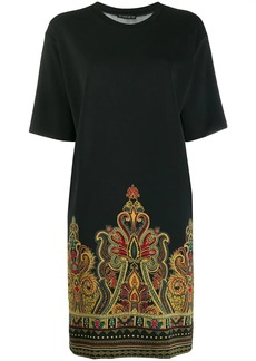 Etro paisley print T-shirt dress