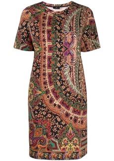 Etro paisley-print T-shirt dress