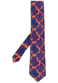 Etro paisley print tie