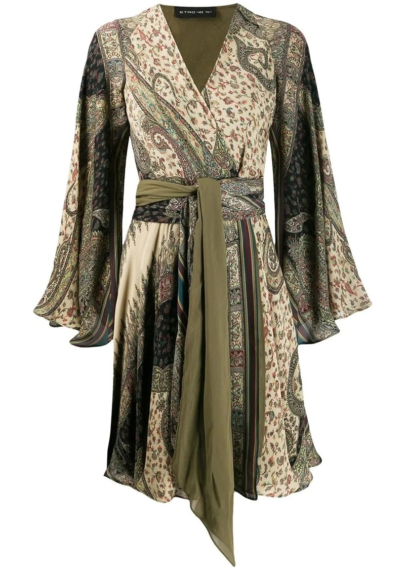 Etro paisley printed kaftan dress