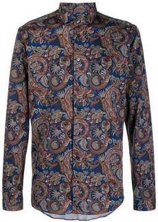 Etro paisley printed shirt