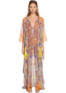 Etro Paisley Printed Silk Georgette Dress