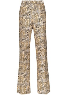 Etro paisley printed tailored trousers