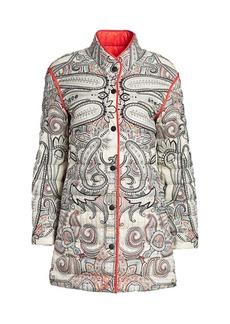 Etro Paisley Puffer Jacket