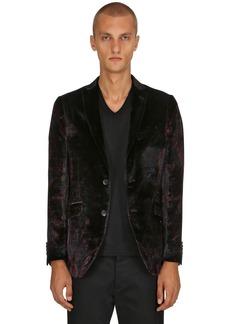 Etro Paisley Viscose & Silk Satin Jacket