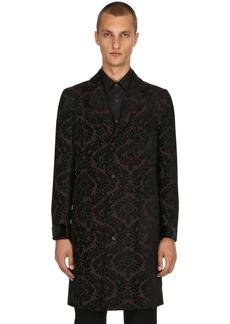 Etro Paisley Wool Jacquard Coat