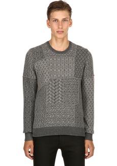 Etro Patchwork Wool Jacquard Sweater