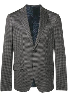 Etro patterned classic blazer
