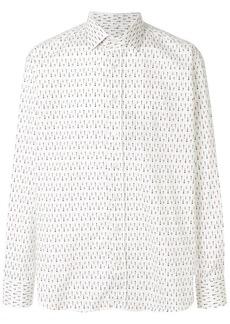 Etro patterned long-sleeved shirt
