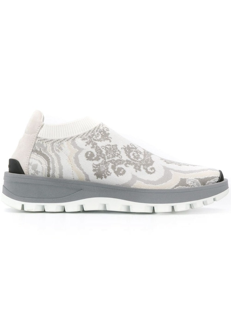 Etro patterned low top sneakers