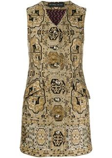 Etro patterned mini dress